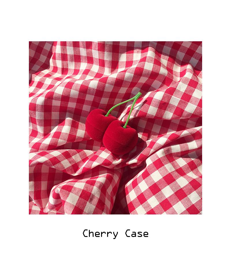 Cherry Case - red - 메종드알로하, 5,500원, 장식소품, 소품케이스