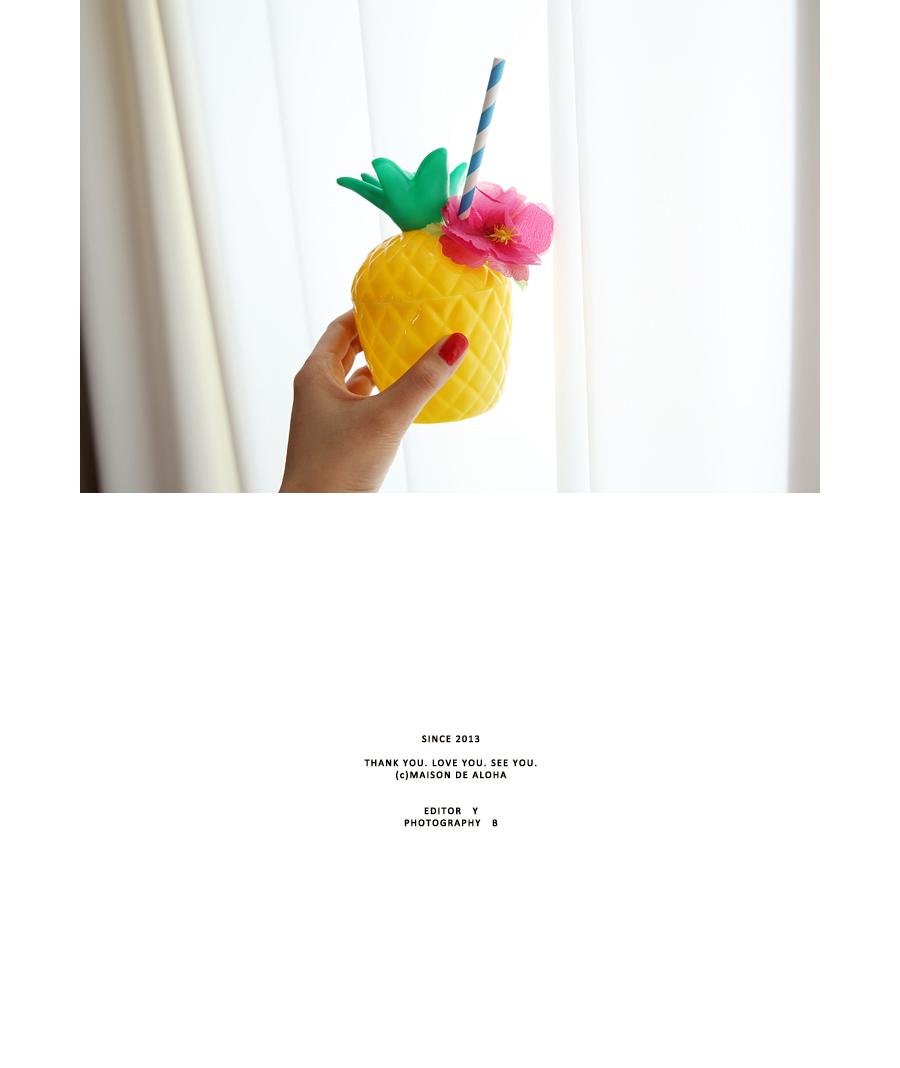 Hawaiian Party Pineapple Cup B Type - 메종드알로하, 6,000원, 피크닉도시락/식기, 컵/물병