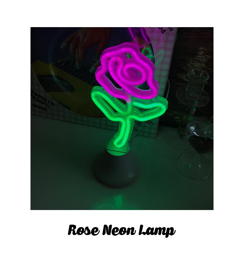 Rose Neon Lamp - 메종드알로하, 26,500원, 이벤트조명, 이벤트조명